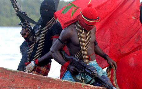 Kidnappers in Niger Delta