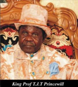 King, Prof T. J. T Princewill