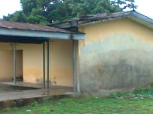 Psychiatric School of Nursing Classroom, Eket  Partly Unroofed