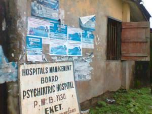 Psychiatric School of Nursing  Eket, Admin Block inhabited by rodents