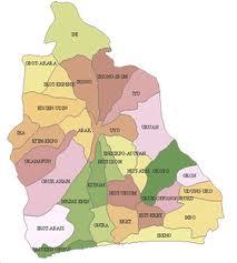 Akwa Ibom State Map