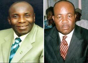Senator Udoedeghe and Governor Akpabio.