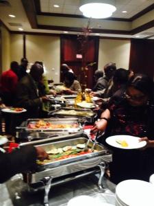 Dinner with Amb Assam Assam in Houston Texas