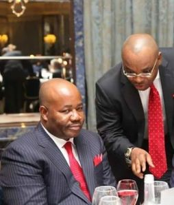 """Udom, I'm thinking about your moving to Labour Party"" - Akpabio"