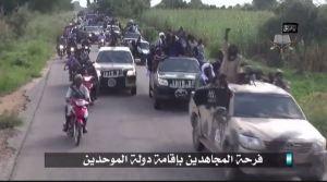 Boko Haram parade